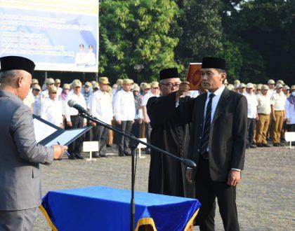 RELEASE PEMERINTAH KOTA BEKASI PELANTIKAN DIREKTUR BIDANG UMUM PDAM TIRTA PATRIOT 2019-2024