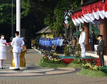 UPACARA PERINGATAN KEMERDEKAAN REPUBLIK INDONESIA YANG KE-75 TINGKAT KOTA BEKASI