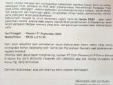 *INFO GANGGUAN PELAYANAN PDAM Tirta Patriot Kota Bekasi*